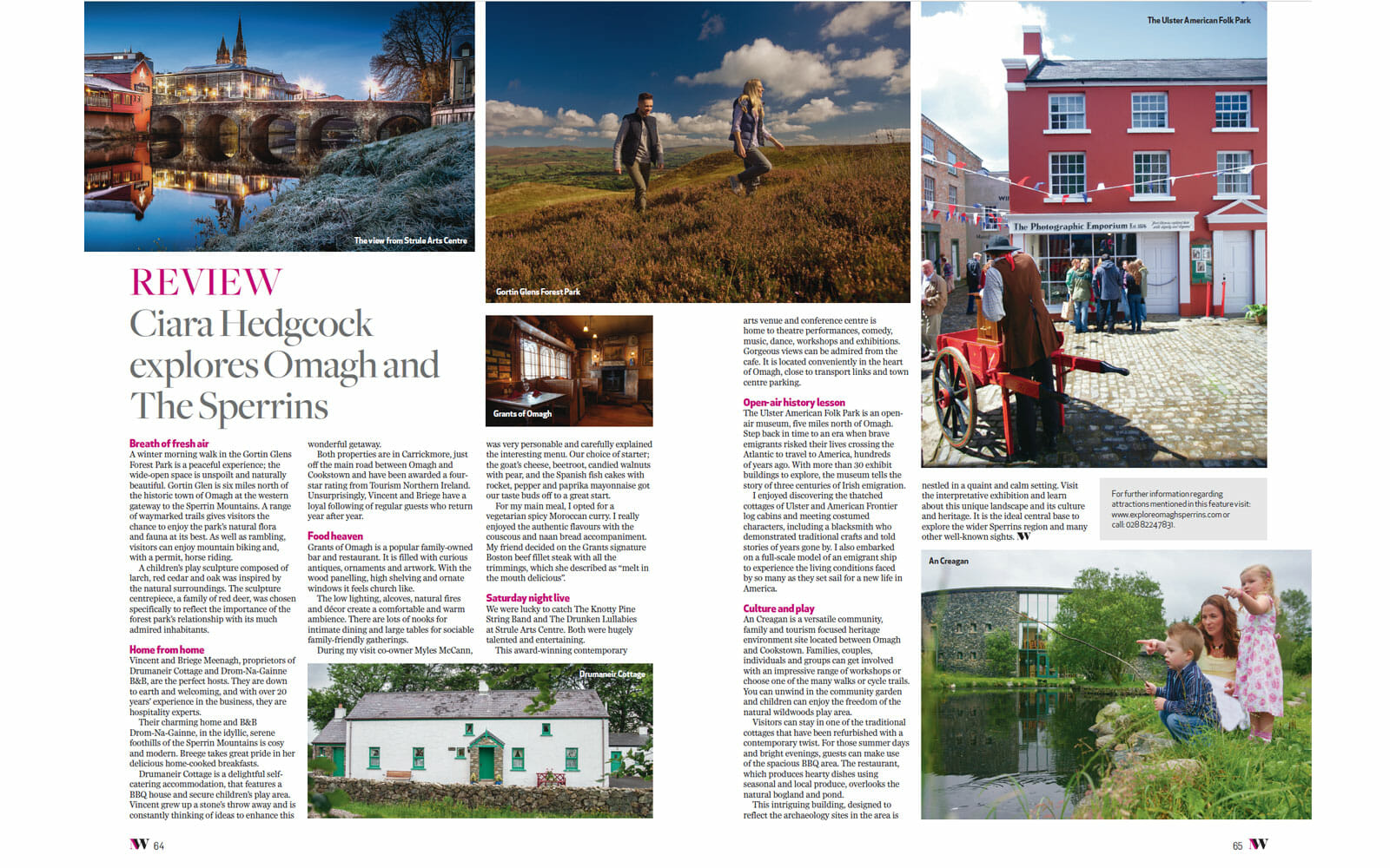 Our place featured in Northern-Woman Magazine in December